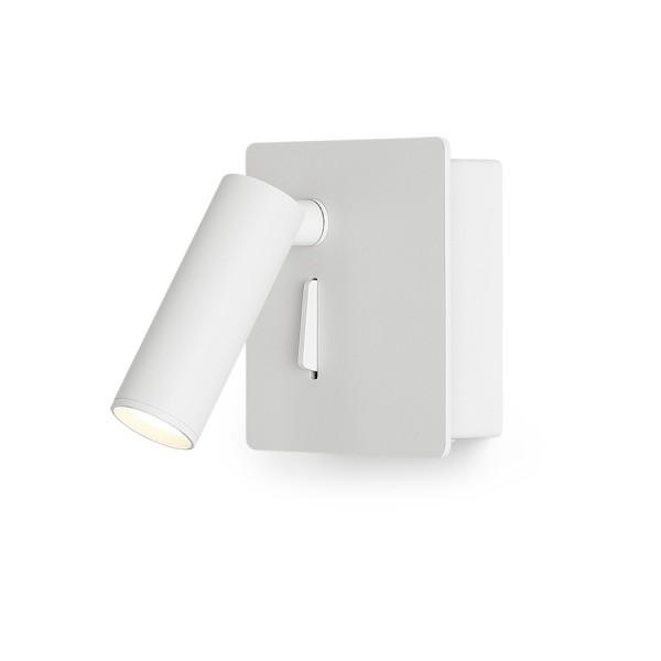 MIG nástenná biela  230V LED 3W 30°  3000K