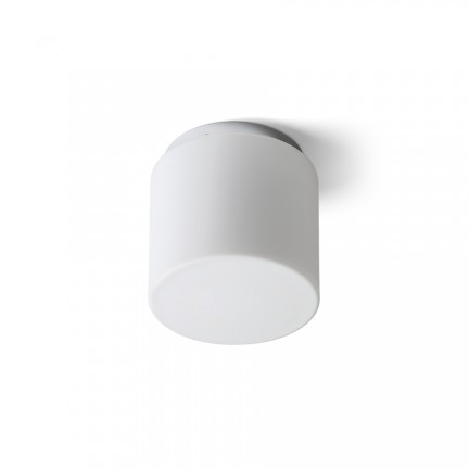 RENDL surface mounted lamp ARANA R 17 ceiling opal-colored glass/chrome 230V E27 15W IP44 R13682 1