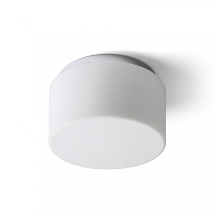 RENDL surface mounted lamp ARANA R 27 ceiling opal-colored glass/chrome 230V E27 20W IP44 R13683 1